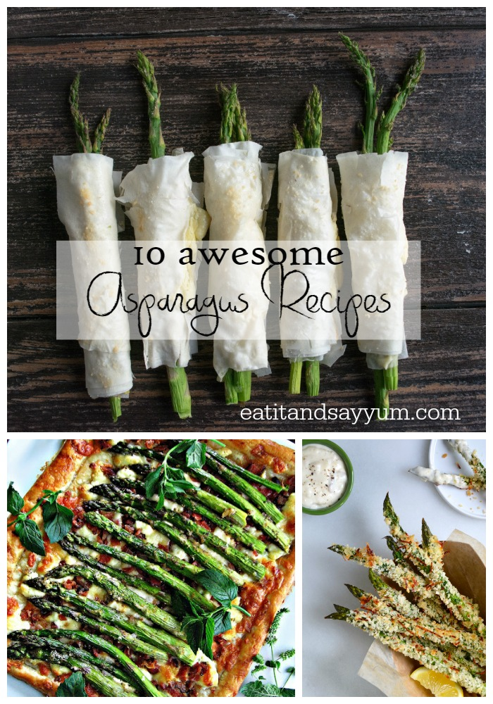 10 Awesome Asparagus Recipes from Say Yum Mondays