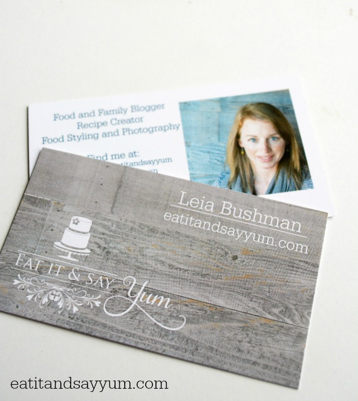 Final Product Business Cards