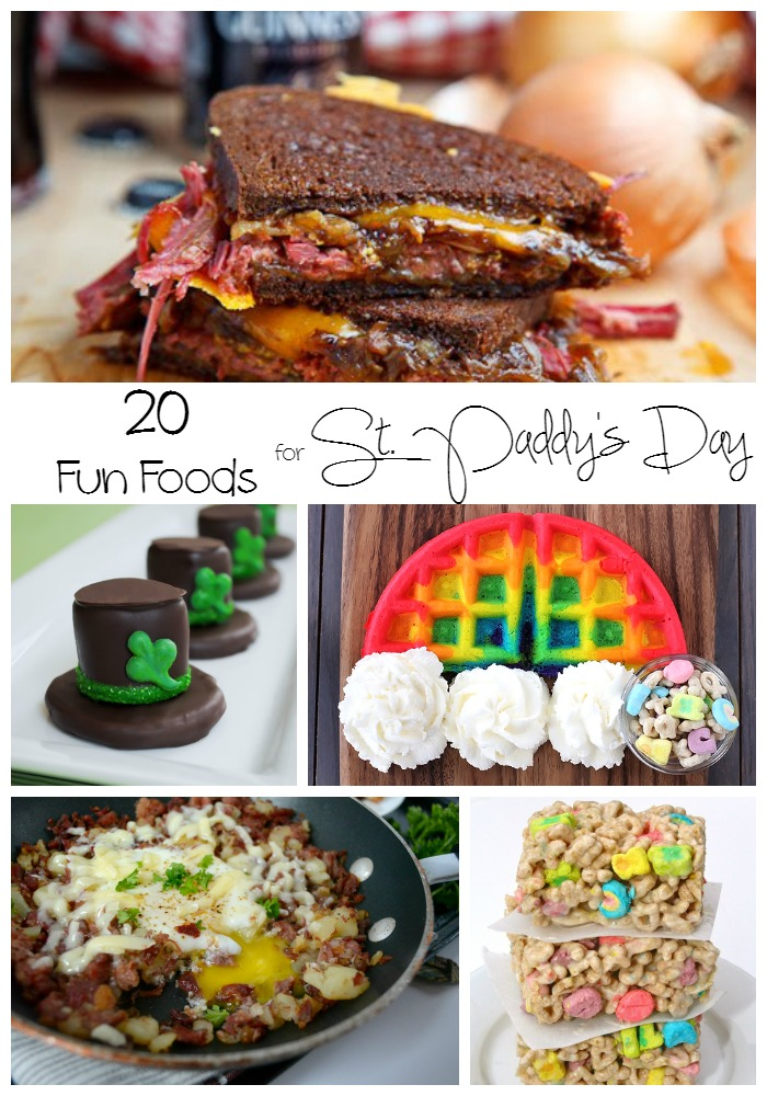 Fun Foods for St. Paddy's Day