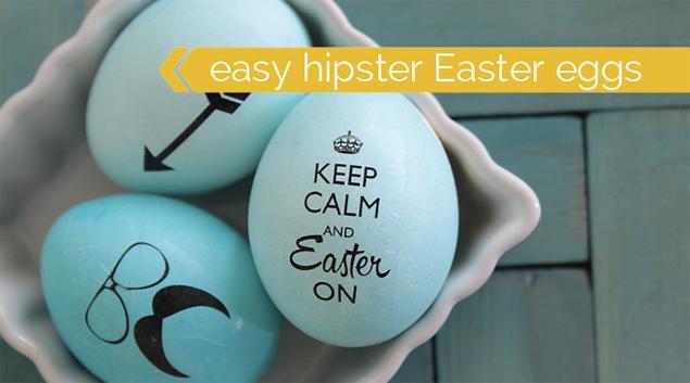 Hipster-Easter-Eggs