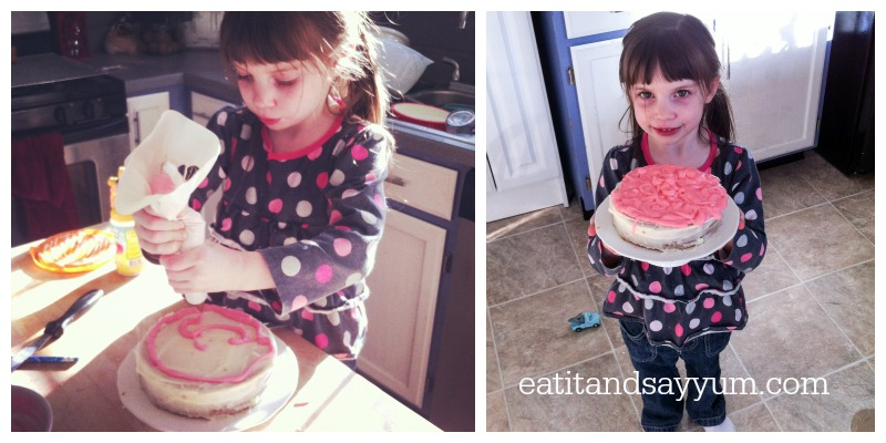 Little Cake decorator.
