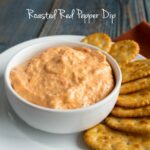 Creamy Roasted Red Pepper Dip