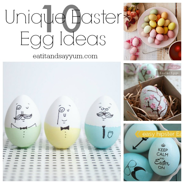 Unique Easter Egg Ideas
