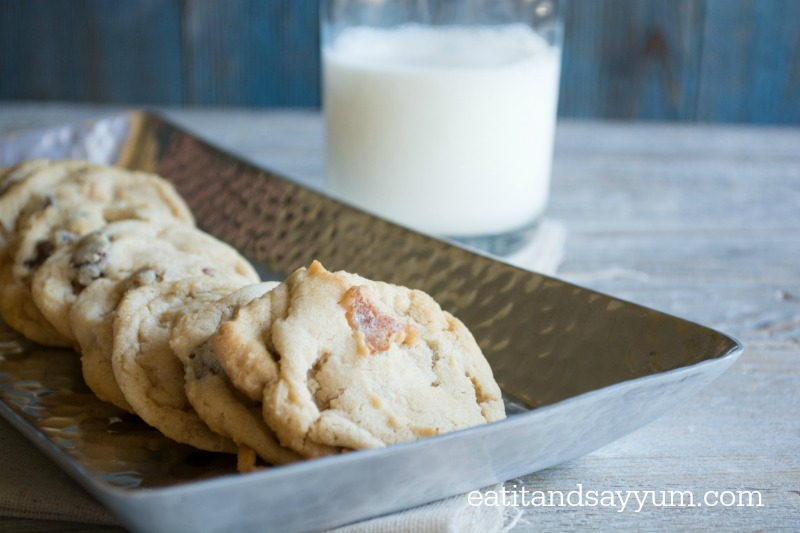 Chocolate Chip Bacon Cookies via Eat It & Say Yum