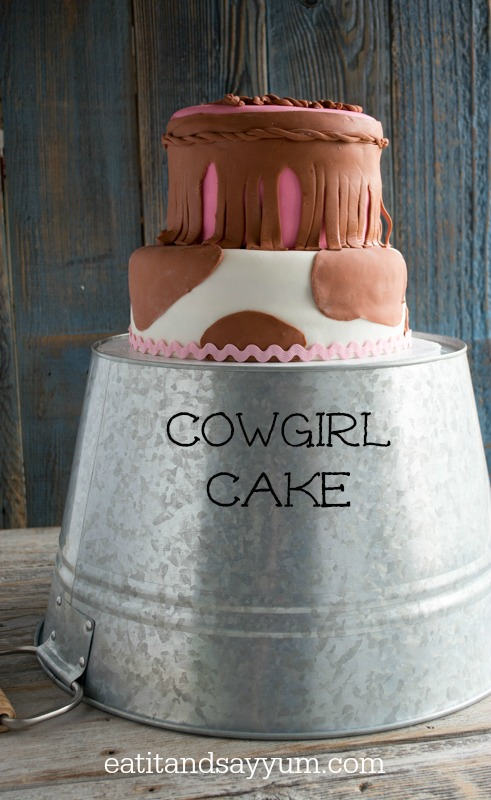 cowgirl cake from Eat It & Say Yum