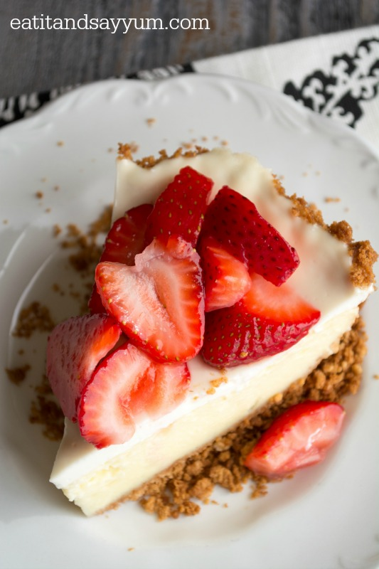California Cheesecake Pie @ Eat It & Say Yum