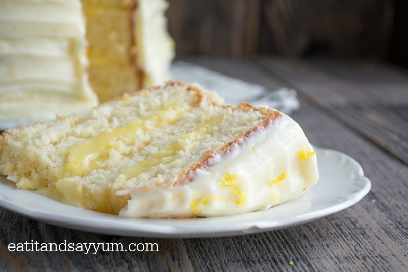 Lemon-Chiffon-Cake-layers-of-lemon-cake-filled-with-lemon-curd-and ...