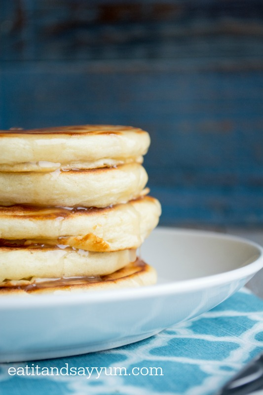 Buttermilk Pancakes- so light and fluffy- the perfect pancake