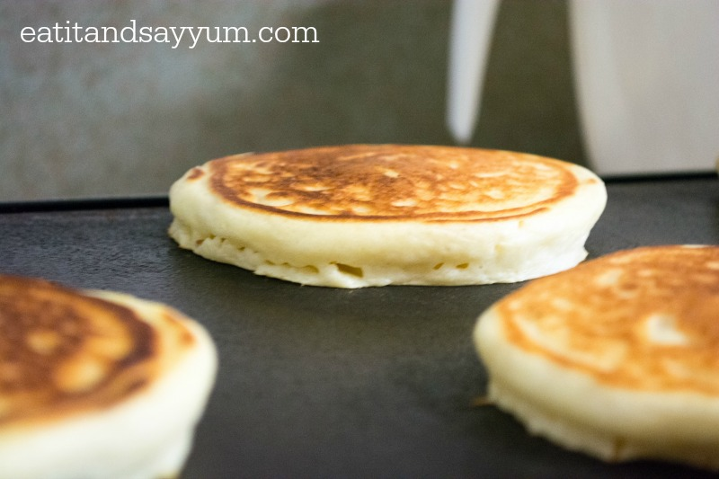 Buttermilk Pancakes that are perfectly light and fluffy
