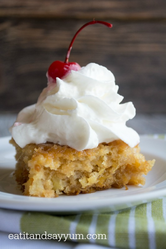 Pineapple Soak Cake