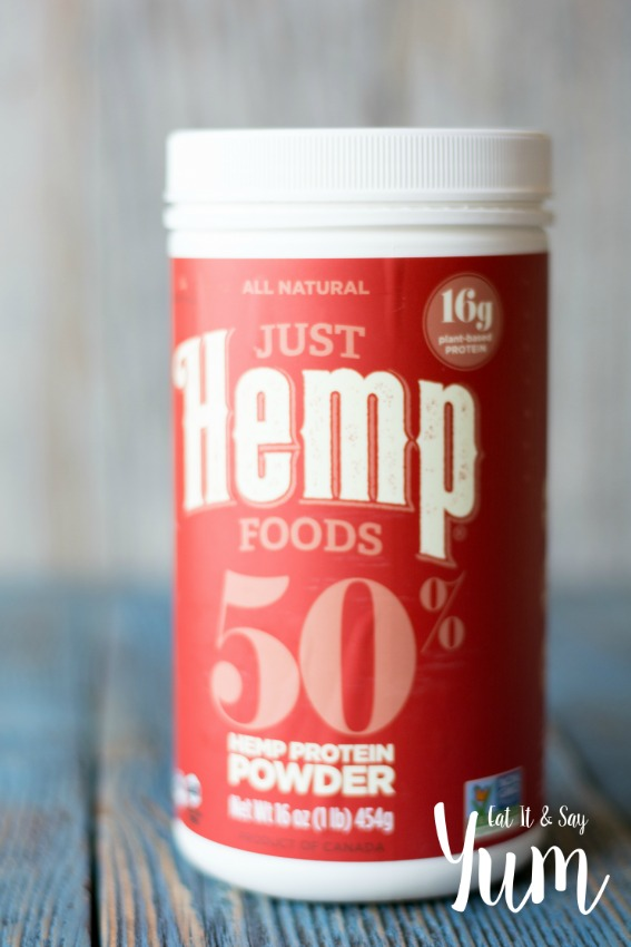 Just Hemp Foods Protein Powder- great for using in protein smoothies and shakes