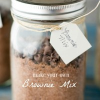Make your own Brownie Mix- ready for whenever you want to make brownies!