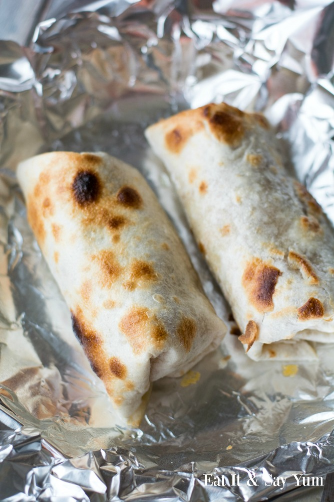 Baked Chimichangas-
